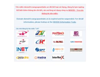 demo04.nangcapwebsite.vn screenshot