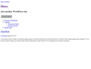 demo2.designerthemes.com screenshot