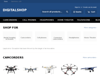 demo2.virtocommerce.com screenshot