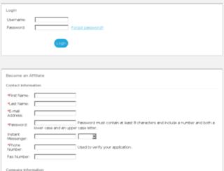 demo4.affiliate-reporting.com screenshot
