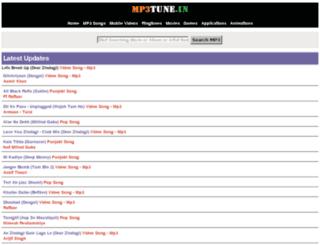demo4.mp3tune.in screenshot