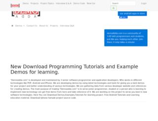 demoadda.com screenshot