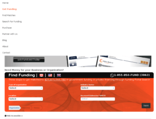 democart.thefundingportal.com screenshot