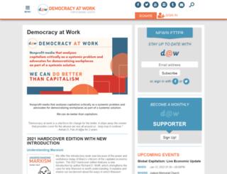 democracyatwork.nationbuilder.com screenshot