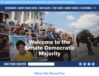 democrats.senate.gov screenshot