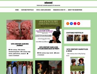 demodecouture.com screenshot