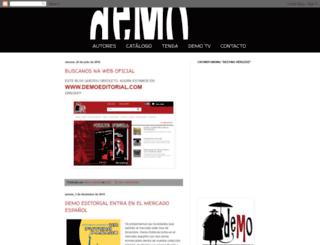 demoeditorial.blogspot.com.es screenshot