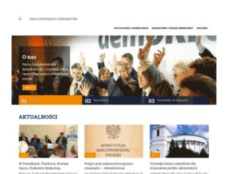demokraci.pl screenshot