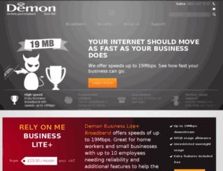 demon.net screenshot