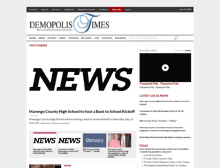 demopolistimes.com screenshot