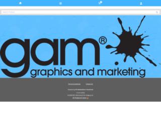demoprintshop.com screenshot