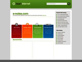 demos.e-noise.com screenshot