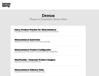 demos.jckemp.com screenshot