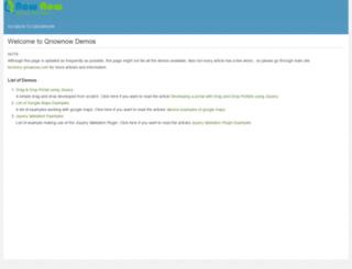 demos.qnownow.com screenshot