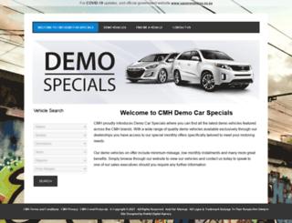 demospecials.co.za screenshot