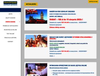 demostenes.com.pl screenshot