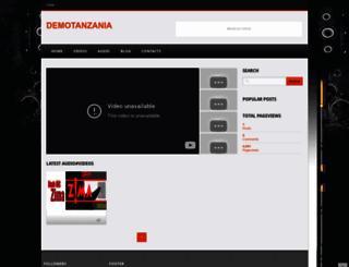 demotanzania.blogspot.com screenshot