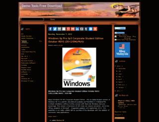 demotoolsfreedownload.blogspot.com screenshot