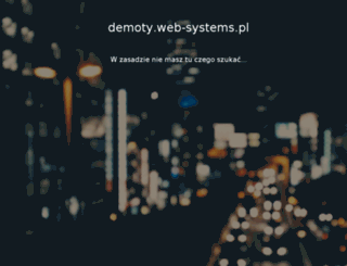 demoty.web-systems.pl screenshot