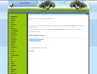 demouser.hpage.com screenshot