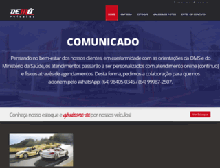demoveiculosrv.com.br screenshot