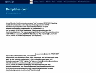demplates.com screenshot
