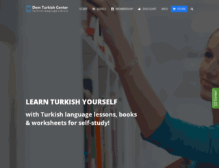 demturkishcenter.com screenshot