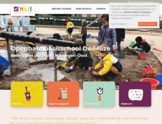 demuze.scholen.net screenshot