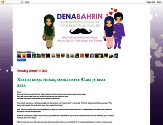 denakamarulbahrin.blogspot.com screenshot