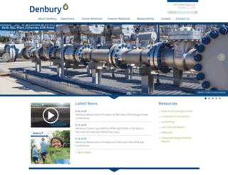 denbury.com screenshot