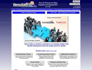 dencosales.com screenshot