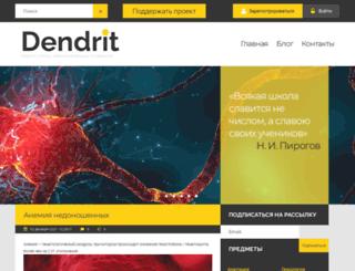 dendrit.ru screenshot