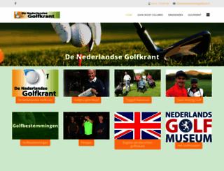 denederlandsegolfkrant.nl screenshot