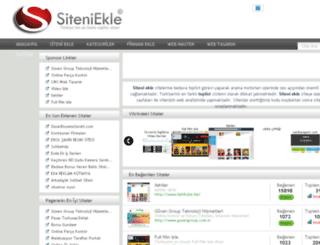 deneme.siteniekle.com.tr screenshot