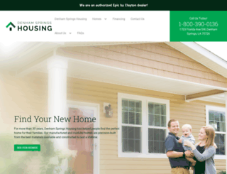 denhamhousing.com screenshot