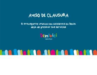 denibici.es screenshot