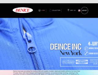 deniceinc.com screenshot