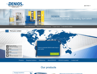 denios.com screenshot