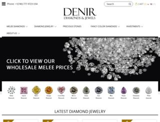denirdiamonds.com screenshot