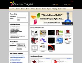 denizlitekstil.com screenshot