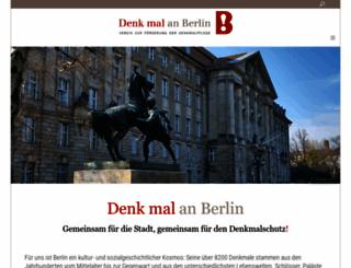 denk-mal-an-berlin.de screenshot