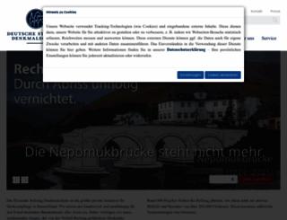 denkmalschutz.de screenshot