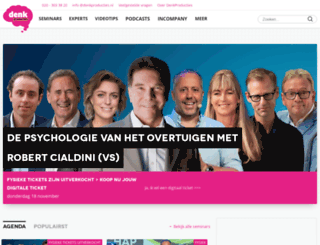 denkproducties.nl screenshot