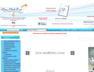 denmedpro.com screenshot
