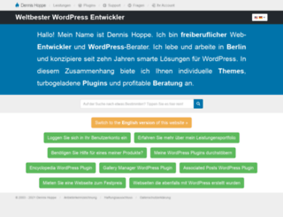 dennishoppe.de screenshot