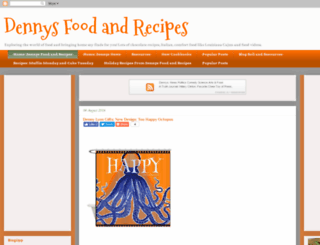 dennysfoodandrecipes.blogspot.com screenshot