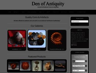 denofantiquity.co.uk screenshot