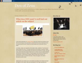denofzeus.blogspot.com screenshot