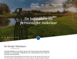 denooijer-makelaars.nl screenshot