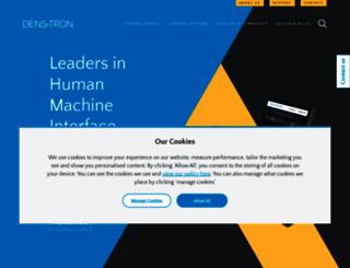 densitron.com screenshot